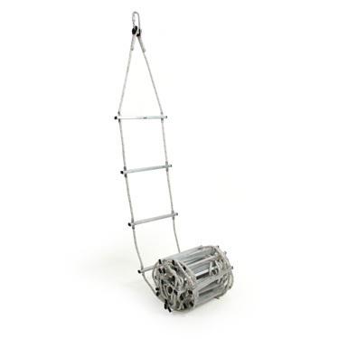 Escalera enrollable de cable o cuerda longitud de 5 a 11m - Escalera de cuerda ...