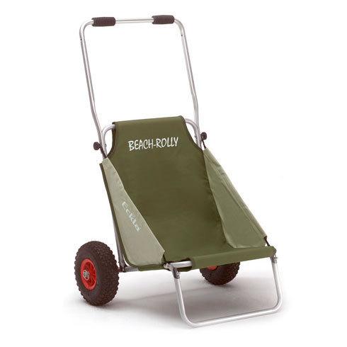 Carro de transporte y silla plegable beach rolly de color - Carro de transporte ...