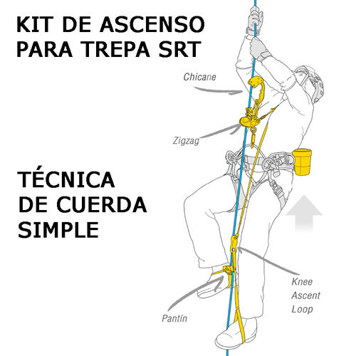 KIT ASCENSO TREPA